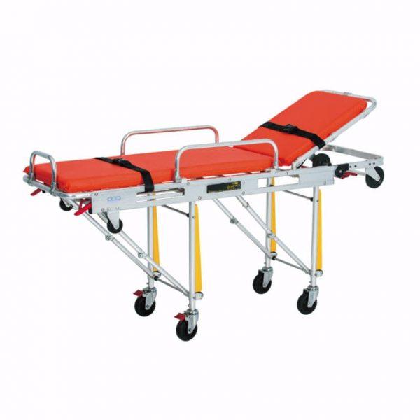 Camilla para ambulancia en aluminio
