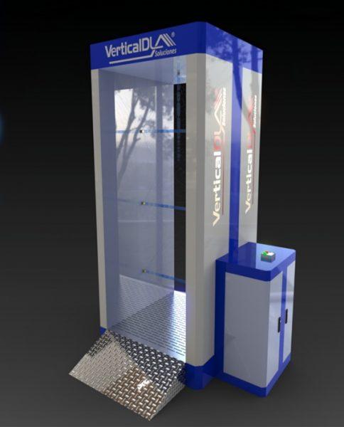 Cabina para descontaminación